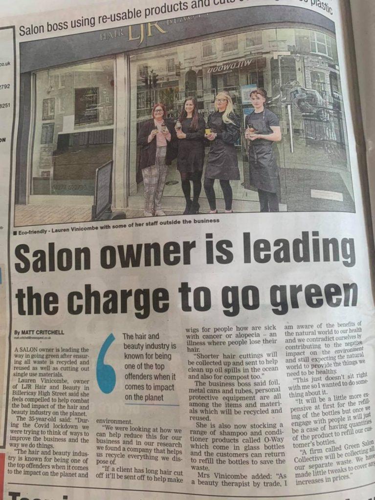 Eco salon in Billericay